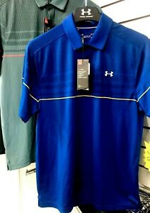 MENS UNDER ARMOUR PERFORMANCE GOLF SHIRT- WOW 56% OFF-LAST ONES IN STOCK-BARGAIN