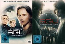 STARGATE UNIVERSE komplette Serie - Staffel Season 1+2 NEU NEW OVP 11 DVDs SG-U