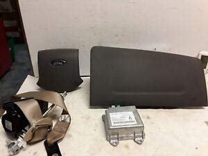 08 09 Ford Taurus X airbag set wheel Dash belt module OEM 8F93-14B321-BC GRAY