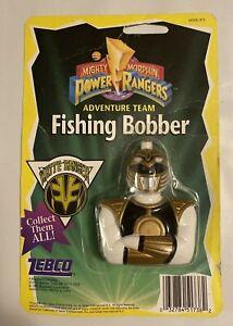 NOS Vintage Original Power Rangers Zebco White Ranger Fishing Bobber 1995 (H6)