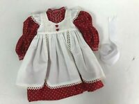 "*NEW* Keepers Dolly Duds Designs CUSTOM Red Victorian Dress Fits 18"" AG Dolls"