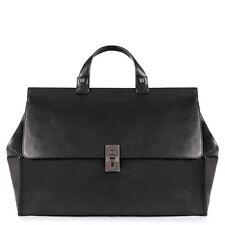 PIQUADRO Ausdehnbare Tasche mit iPad®Air/Air2-Fach Schwarz Leder