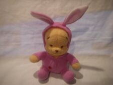 DISNEY FISHER-PRICE MATTEL MY FIRST SPRINGTIME POOH PLUSH  NEW WITH TAG