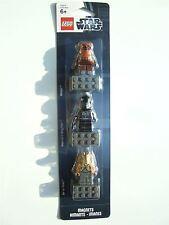 Lego Star Wars, set d'aimant (Jar Jar, V-wing pilote, Wicket) -853414