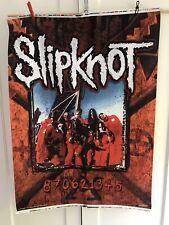 Vintage Slipknot flag tapestry Poster From 2000 NOS