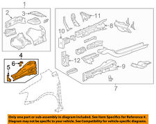 Chevrolet GM OEM 12-16 Sonic Fender-Upper Rail Apron Panel Cover Left 95472108