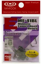 Vanfook ME-41BL #6 Barbless Single Luring Fishing Hook
