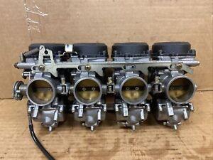 LQW HOME Carburador 4pcs Compatible con Ninja ZX-9R ZX900B 1994-1997 ZX 900 ZX900 B ZX-9 R Kit de reparaci/ón de carburador de la Motocicleta Patr/ón Diafragma de Caucho Carbohidratos