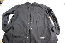 RARE H&M UNIQUE Trip You Out Long Sleeve Jacket Shirt XL 17 x 36/37