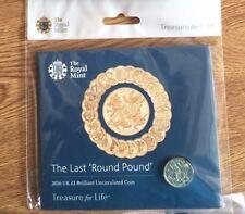 1 Pound Coins  Last Round £1 Coin - 2