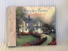"Thomas Kinkade ""Simpler Times� Hardcover Book"