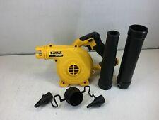 New Dewalt Dce100B 20V 20 Volt Cordless Blower 20 Volt Max Compact Jobsite