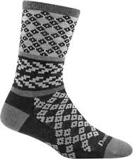 Darn Tough 6018 Gray Women's Greta Crew Lightweight Lifestyle Sock USA
