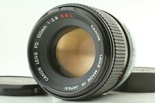 【Excellent+++++】 Canon FD 100mm f/2.8 S.S.C. SSC Telephoto MF Lens From Japan