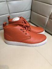 Black Scale Blvck Scvle Orange Snakeskin Sneakers Size 12