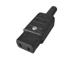 IEC C9 Black Mains Connector Marantz Revox Roland