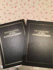 1989 Australian Post Year Book Album Stamps - Executive Leather Black Edition