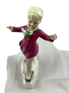 Royal Worcester Figurine  January Modelled By FG Dougherty WOW