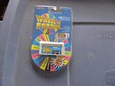 Wheel of Fortune Hand Held electronic game TIGER Cartridge #9 NEW SEALED
