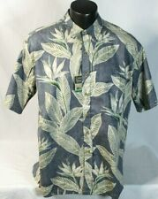 COOKE STREET HONOLULU 100% Cotton Aloha Hawaiian Camp Shirt Mens sz XL Leaf NWT