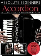ABSOLUTE BEGINNERS Tweed Book & CD Accordion*