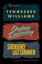 Orpheus Descending And Suddenly Last Summer (new Directions Books): By Tennes...