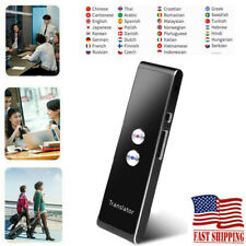 Portable Smart Two-Way Real Time 40+ Multi-Languages Translator Instant Voice Us