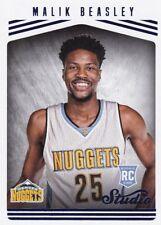 Malik BeasIey, (rookie) 2016-17 Panini Studio baloncesto Walker, #183