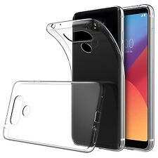 Ultra Thin Slim Soft TPU Clear Transparent Case Cover For LG G6 | LG Q6