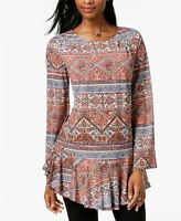 Style Co. Women's Top Tapestry Rose XS