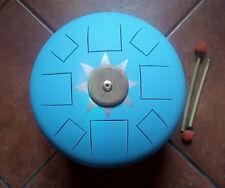 Hank Drum 432hz  - handpan -  space drum - tank - disco armonico - steel tongue