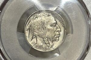 1918 PCGS & CAC MS64 Buffalo Nickel 5C
