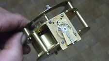 More details for good small old--antique french platform escapement movement & falseplate