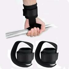 Weight Lifting Grips Straps Wrist Support Gym Training Hand Bar Wraps Gloves A