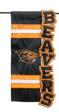 Oregon State University Sculpted Applique Flag NCAA Licensed College Beavers B
