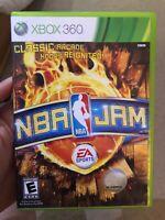 NBA Jam (Microsoft Xbox 360, 2010) Complete Tested Works CIB