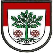 Wappen von Bad Freienwalde Aufnäher, Pin Aufbügler.