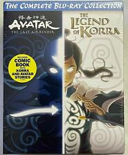 NEW AVATAR THE LAST AIRBENDER LEGEND OF KORRA COMPLETE SERIES BLU RAY COLLECTION