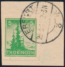 SBZ, MiNr. 94 AX b w U, ungezähnt, schönes Briefstück, Befund Schulz, Mi. 100,-