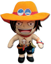One Piece 8'' Ace Plush Anime Manga NEW