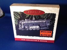 1996 Hallmark Ornament Keepsake Lionel 700E Hudson Steam Locomotive Train w/ Box