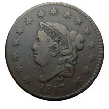 Large cent/penny 1817 fifteen star variety nice+