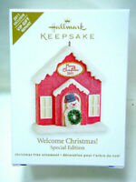 🎄HALLMARK 2011 * WELCOME CHRISTMAS! SPECIAL EDITION *VIP GIFT REPAINT* ORNAMENT