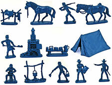Atlantic U.S. Cavalry Camp - set 1207 - figures only - no box - 60mm scale