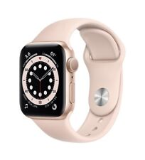 Apple Watch Series 6 GPS 40mm RoseGold Aluminum Case with Pink Sand Sport Band