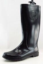 Diesel Rain Boots Black Synthetic Women Sz 38