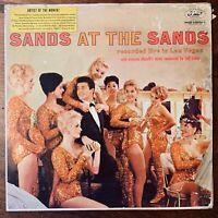 TOMMY SANDS  SANDS AT THE SANDS  VINYL LP CAPITOL. LIVE IN LAS VEGAS VERY GOOD