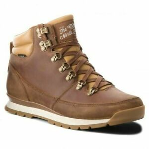 Mens The North Face Back To Berkeley Boots Dijon/Tagumi Brown Waterproof Snow