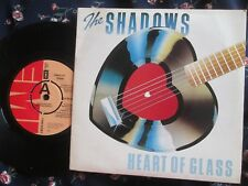 "The Shadows A Label Demo Heart Of Glass EMI Record EMI 5083 UK 7"" Single"