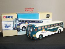CORGI 98460 YELLOW COACH 743 GREYHOUND NEW YORK WORLDS FAIR AMERICAN DIECAST BUS